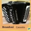 Kнопочний акордеон (Баян) - Brandoni 92/120 (Італія)
